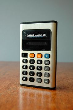 Vintage Casio Pocket-8S Calculator