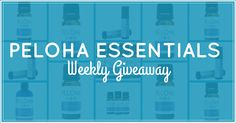 Peloha Essentials is giving away great essential oil products every week! Enter now for your chance to win!