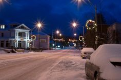 Winter in my hometown, downtown Wise, VA. - There's absolutely no place more beautiful!! Thanks, Jason!! <3