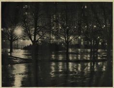 Alfred Stieglitz (1897) Night Reflections