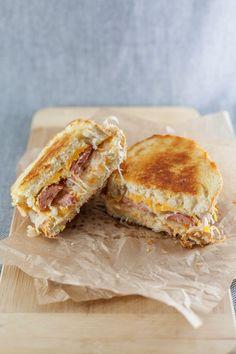 The German Grilled Cheese   bsinthekitchen.com #grilledcheese #sandwich #bsinthekitchen