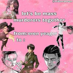 Aot Memes, Funny Memes, Anime Pick Up Lines, Valentines Anime, Haikyuu, Attack On Titan Season, Anime Friendship, Mood Pics, Anime Comics