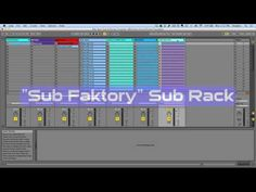 Blitz Bass Ableton Live 9 Bass Sound Design Template - YouTube