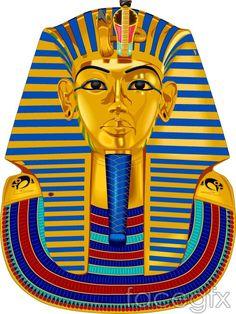 Vector Egypt Pharaoh famous buildings City Gallery