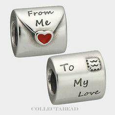 pandora charm love letter
