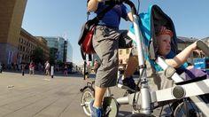 Testissä: Strolla lastenkuljetuspyörä – pyörä, joka muuttuu rattaiksi