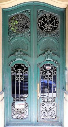 Art Nouveau Doors - Barcelona