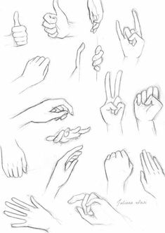 Hand positions for drawing anatomy/ helpful tips en 2019 art sketches, draw Drawing Anime Hands, Body Drawing, Drawing Base, Manga Drawing, Feet Drawing, Anatomy Drawing, Pencil Art Drawings, Art Drawings Sketches, Art Sketches
