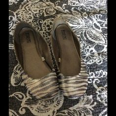 Zebra flats Target zebra ballet flats gently worn no stains or damage Mossimo Supply Co Shoes Flats & Loafers