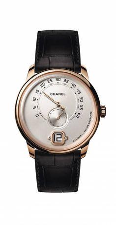 Avec sa Monsieur, Chanel frappe un grand coup - Le Point Montres