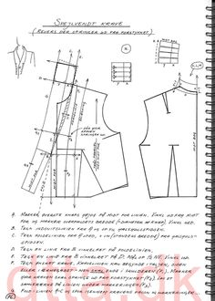 SYSTEM DTTA: PAGE 76 | Tailoring - patternmaking, cutting and sewing | THE DESIGN AND TECHNICAL TAILORING ACADEMY | TILSKÆRERAKADEMIET I KØBENHAVN (KBH)