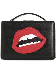 Shop Mark Cross mouth motif box clutch in Hirshleifers from the world's best independent boutiques at farfetch.com. Over 1500 brands from 300 boutiques in one website.