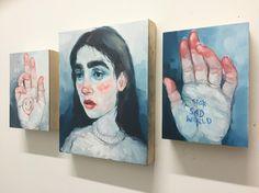 "4,035 Likes, 29 Comments - Shanna Van Maurik (@nogobed) on Instagram: ""+❤️ forever #oilpaint #portraiture"""
