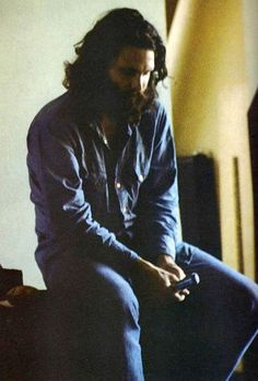 Jim Morrison, The Doors, sessions for LA Woman, released April 19, 1971. Photo by Frank Lisciandro.