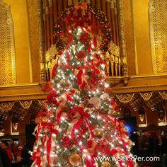 Tree goals! #christmastree #foxtheater #Detroit #Christmas