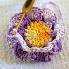 Flor caracol - www.croche.com (25)