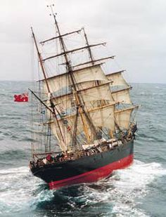 """The Tall Ship """"James Craig"""" previously named The """"Clan Mcleod"""""""