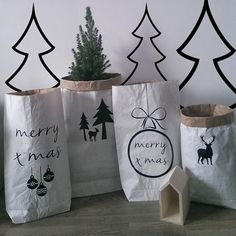 Christmas paperbags