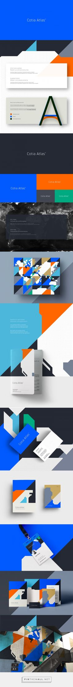Cotia Atlas on Behance... - a grouped images picture - Pin Them All