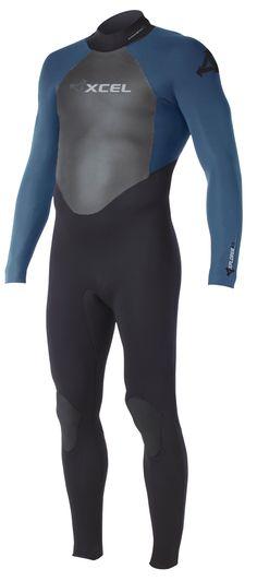 4/3mm Men's XCEL XPLORER Full Wetsuit   Wetsuit Wearhouse