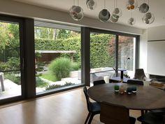 Outdoor Seating, Indoor Outdoor, Exterior, Windows, Outdoor Rooms, Inside Outside, Ramen, Window