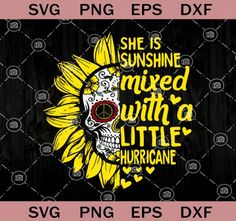 Sunflower Quotes, Sunflower Art, Sunflower Clipart, Skull Wallpaper, Sunflower Wallpaper, Cricut Explore Air, Printable Designs, Cricut Vinyl, Silhouette Projects