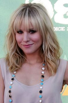 Kristen Bell Medium Long Hairstyle