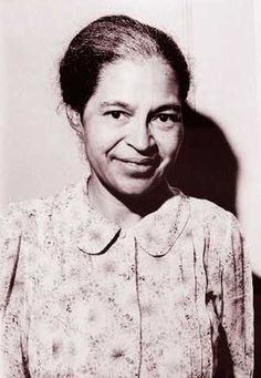 Rosa Parks - very cool lady