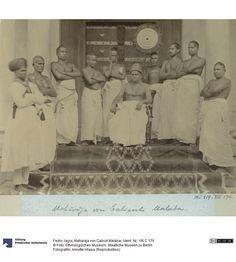 The Zamorin of Calicut with entourage