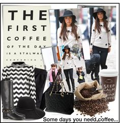 """""""Coffee"""" by lisabedow on Polyvore"""