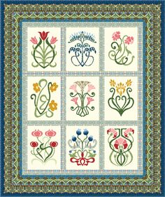 Arts and Crafts Block of the Month | Sew Stitchable