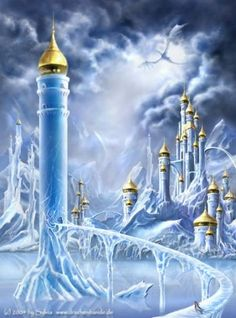 Icy fantasy art