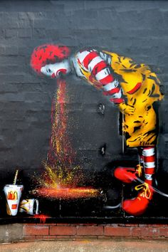 """""""I'm sorry I just actually tried some of my own food..."""" -Ronald McDonald. HAHAHAHAHAHAH"""