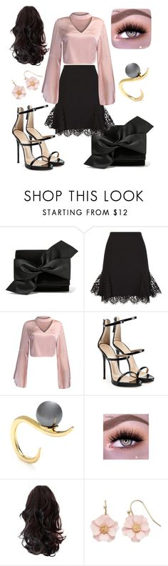 """free-style"" by marianadya ❤ liked on Polyvore featuring Victoria Beckham, Oscar de la Renta, WithChic, Giuseppe Zanotti, Ryan Storer and LC Lauren Conrad"