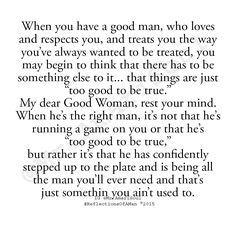 Good Men Quotes To All The Girls Who Let Him Go Thank You Larry Ritchie
