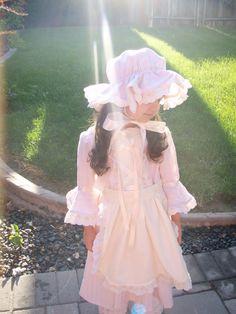 Little Bo-Peep, Colonial style costume