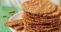 Кунжутное печенье: и вкусно, и полезно. Всегда готовлю на выходных.