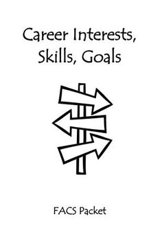 Family and consumer sciences lessons and resources to explore student& career plans. High School Counseling, Career Counseling, Education College, School Counselor, Student Leadership, Elementary Counseling, Student Success, Primary Education, Childhood Education