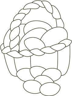 easter coloring pages easter coloring pages easter egg basket coloring pages egg baskets