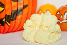 Flocos de Lã in Halloween.