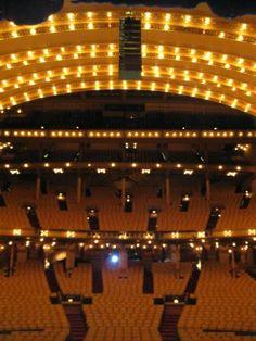 The Auditorium Theatre, #Chicago. http://atru.org/W1UexF