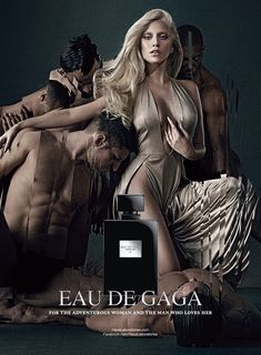 Eau de Gaga by Lady Gaga_photography Steven Klein.