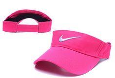 Hot fashion Nike Visor Hats Pink Nike Pop Street Caps  6 pc 13b1d6319019