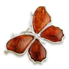 Oh Wow that is nice. My mom's mom loves amber jewelry - I almost wish I had seen this butterfly before the others!