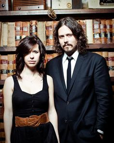 "The Civil Wars... If you like folk-y country, you'll love them! I suggest ""Barton's Hollow"" <3"