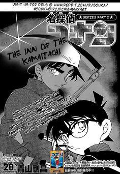 Read manga Detective Conan 910: The Murderous Kamaitachi online in high quality