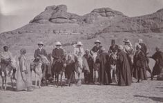 Wilhelmina and Walther von Hallwy in Egypt, 1900-01. The online exhibition follows the family on their trip.