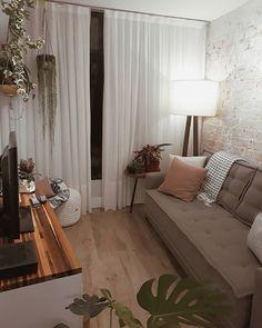 Tiny Home interior Walls - - - - Home interior Ideas Home Interior, Home Living Room, Apartment Living, Interior Design Living Room, Living Room Designs, Living Room Decor, Interior Walls, Interior Ideas, Simple Living Room
