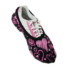 Brunswick Blitz Hearts All Over Shoe Cover (Medium) by Brunswick. $11.99. Brunswick Blitz Shoe CoversBlitz protects bowling shoes from the offensive elements, inside and outside of the bowling center and do it with an attitudeBlitz shoe covers protect the soles of bowling shoes from moisture, gum, food, etcEasy to slip on over shoes and stores easily inside a bowling bag Men's Traditional Width Small:--- Med:to size 7 Large:7.5 - 9.5 X-Large:10 - 12 XX-Large:12+ Women's Traditio...