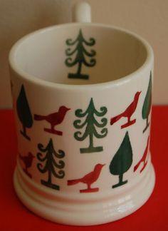 Emma Bridgewater Scandinavian Christmas SAMPLE 0.5 Pint Mug ---EB make lovely, lovely mugs...waiting for one featuring chickadees!